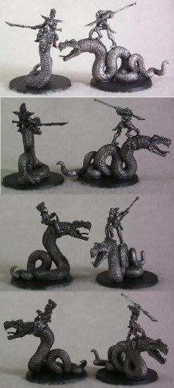 95601 Infernal Elf Serpent Riders (2) - Click Image to Close