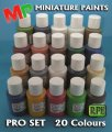 PAINTS: PRO SET +BRUSHES +MINIS