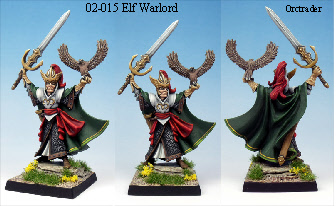 02015 Elf warlord painted by orctrader