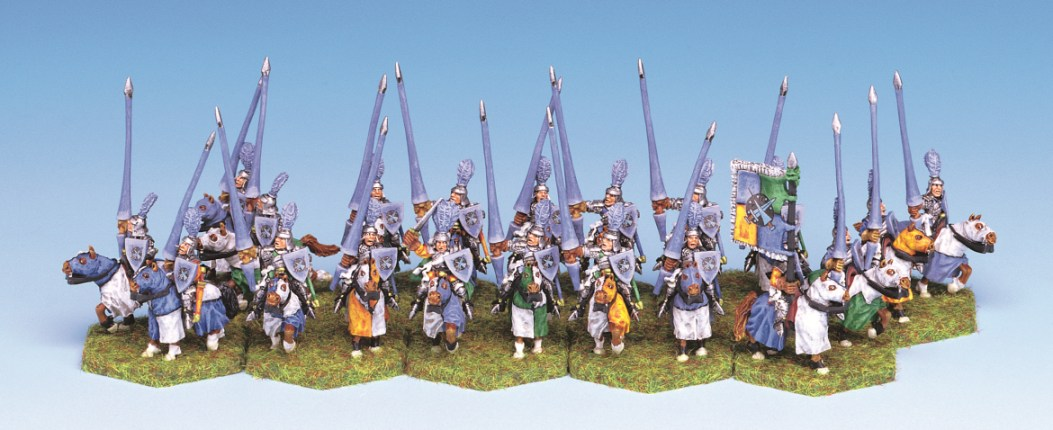 4110 Noble Mounted Lancers (20) - Click Image to Close