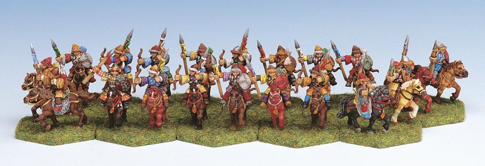 4123 Horse Archers (20) - Click Image to Close